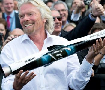 VIRGIN ROCKET REACHES SPACE